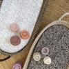 Stoffen hoesjes voor matrasjes verschoonmand KWANTUM