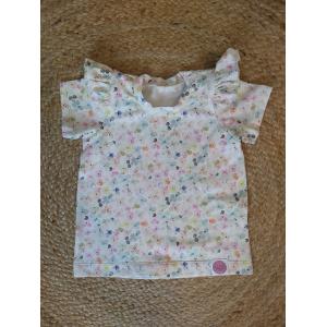 T-shirt met flutters | Print naar keuze