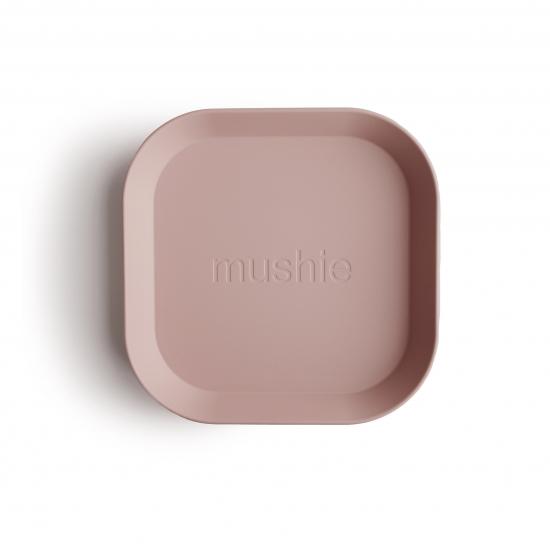 Mushie bordenset blush square
